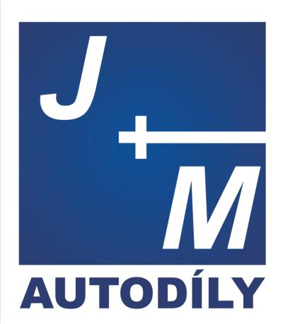 Logo společnosti J+M autodíly, s.r.o.