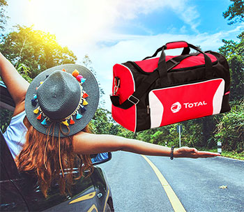 Získajte nádhernú cestovnú tašku TOTAL